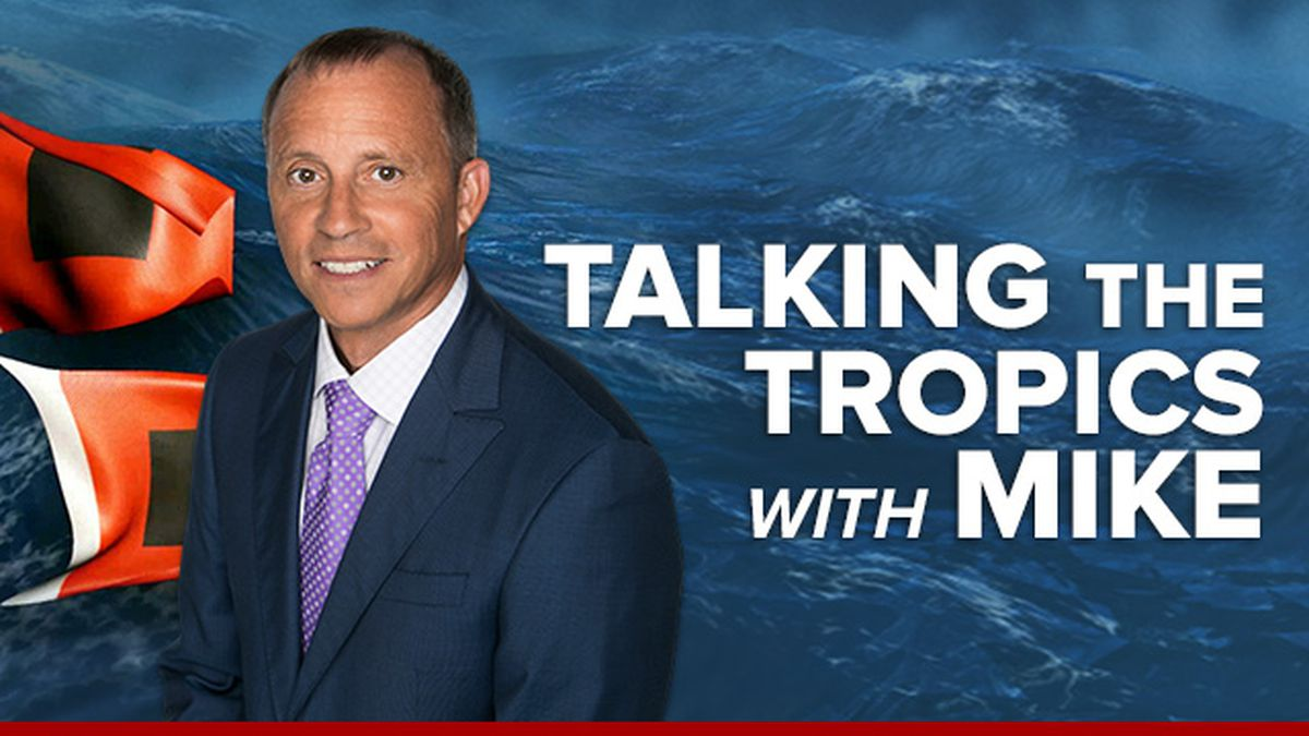 Talking the Tropics With Mike: Weak low SW Caribbean