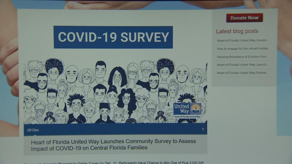 United Way of Northeast Florida wants to know how you've been affected by coronvirus