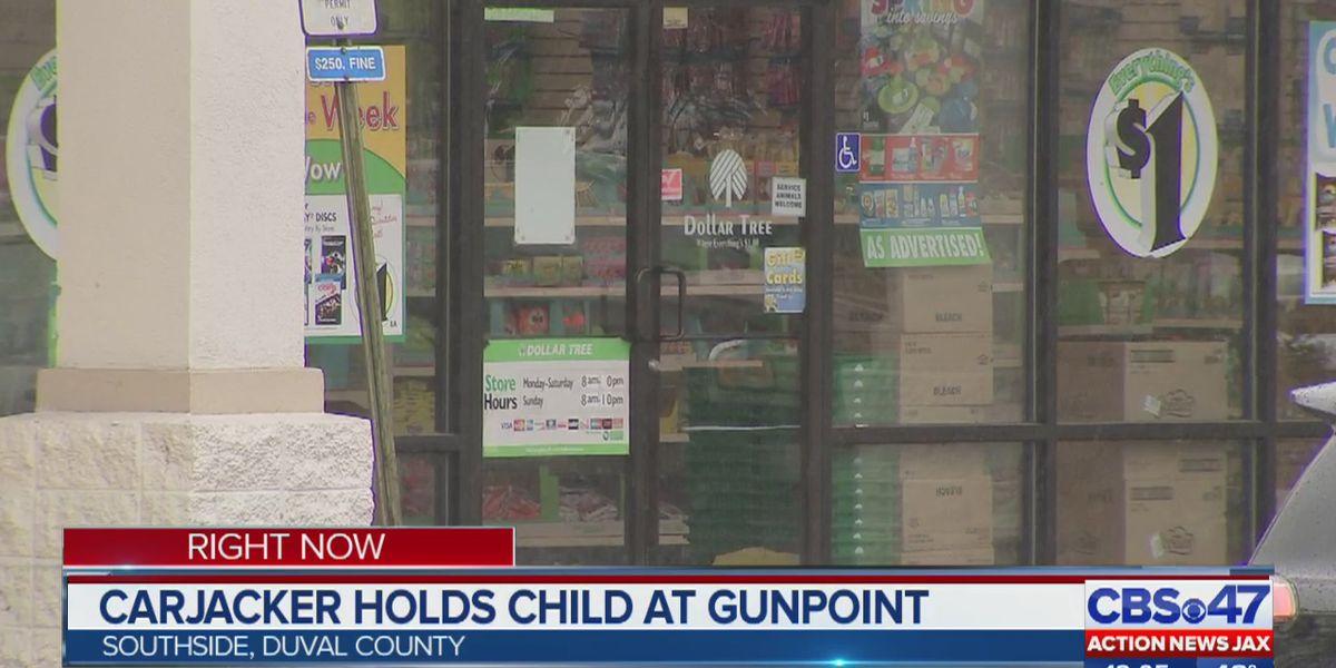 JSO: Gun held to child's chest during Beach Boulevard carjacking
