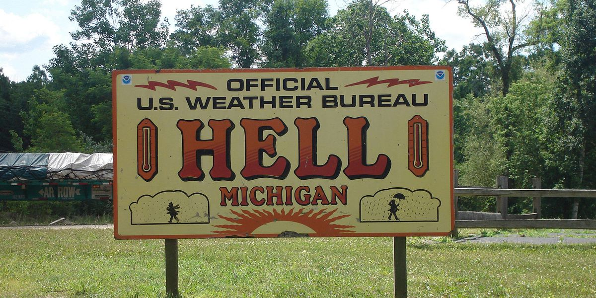 YouTube star Elijah Daniel buys town of Hell, Michigan renames it Gay Hell