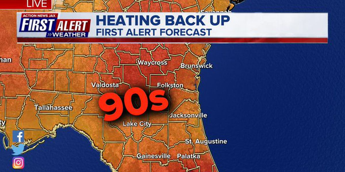 First Alert Weather: Hot with afternoon storms shifting inland