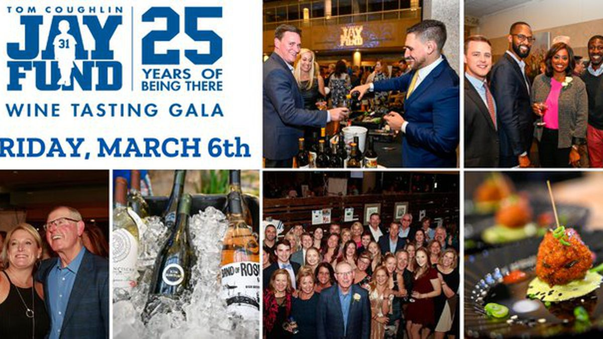 Tickets on sale for annual Tom Coughlin Jay Fund Foundation Wine Gala
