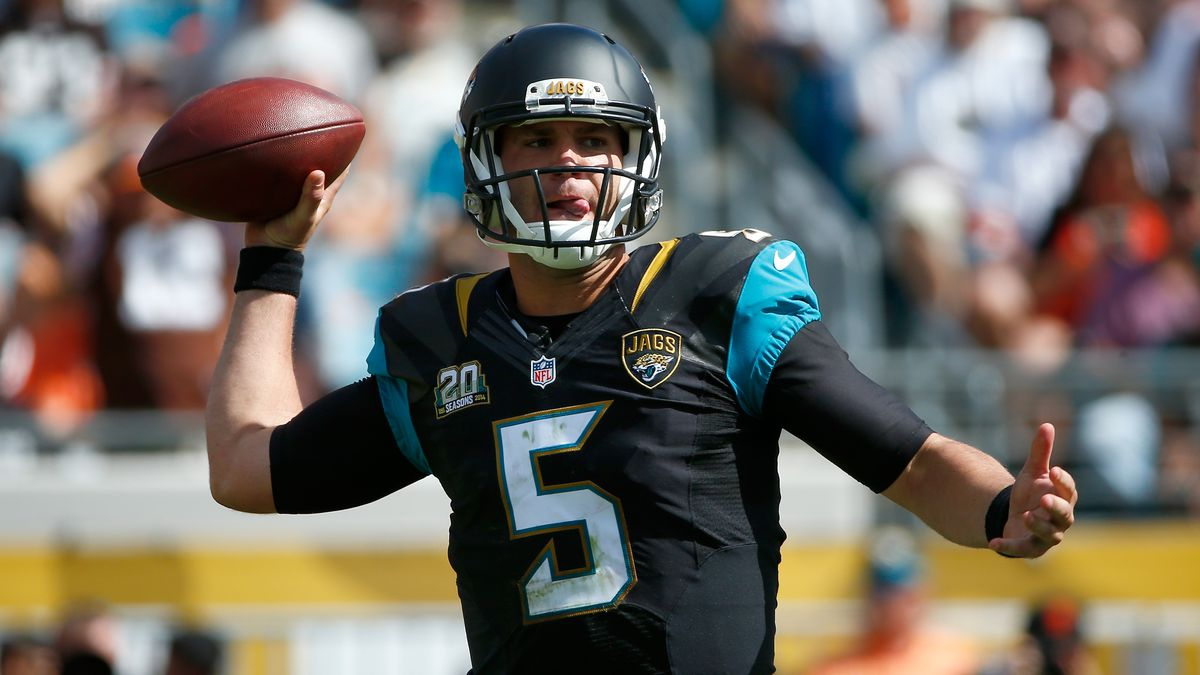 "Bortles ""questionable"" for Thursday with foot sprain"
