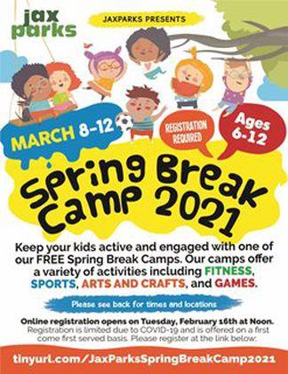 JaxParks Spring Break Camp 2021