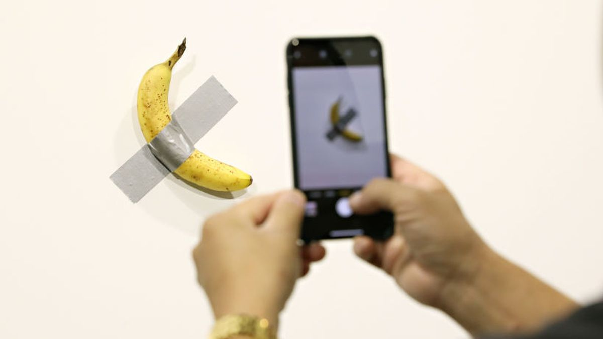 That's bananas: Banana duct-taped to wall sells for $120K at Art Basel in Miami
