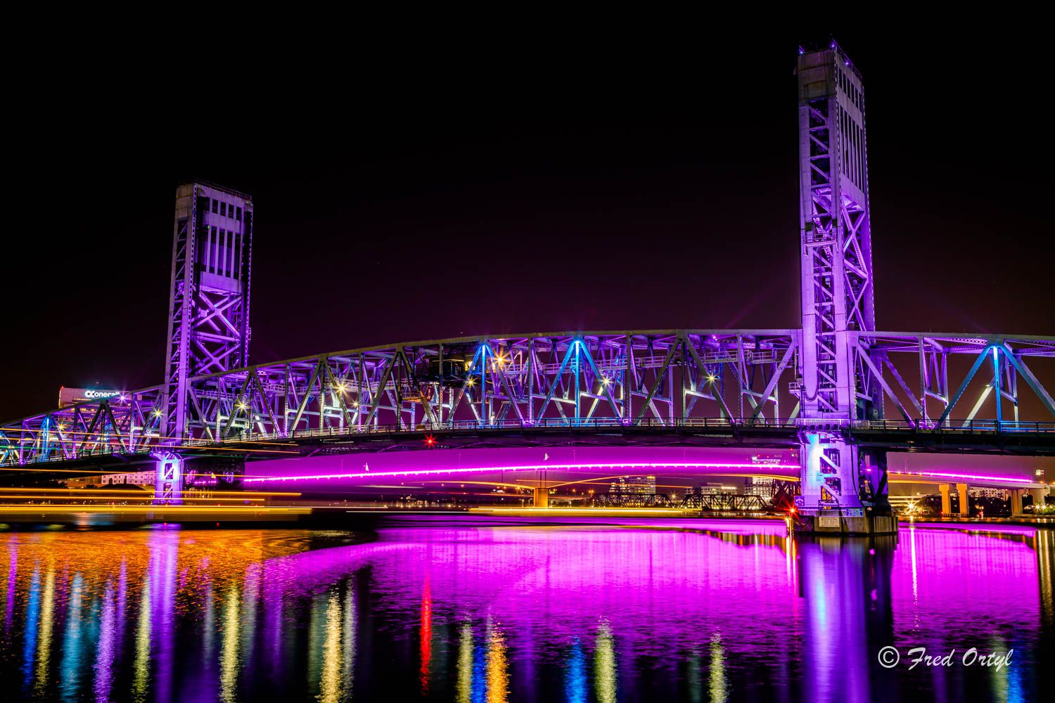 How Light Display Of Jacksonville S Acosta Bridge Is Chosen And The Meaning Behind Them Action News Jax