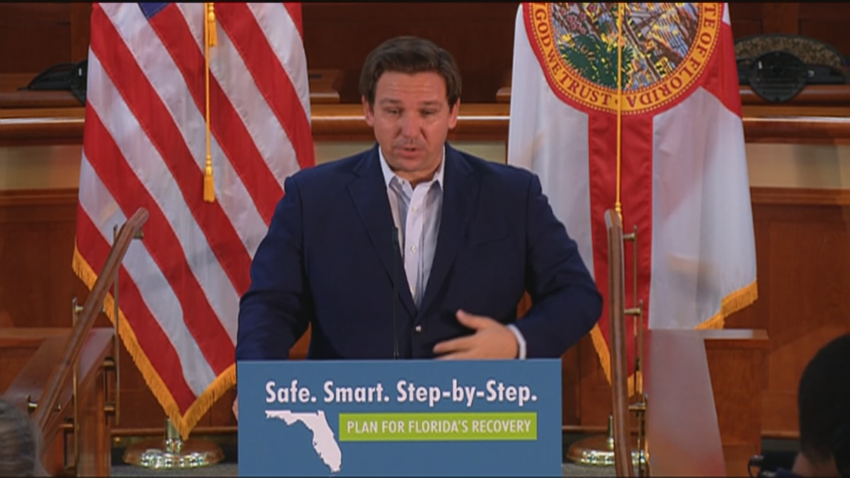 Governor DeSantis signs the 2020-2021 fiscal budget