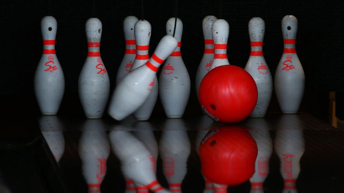 Man rolls out mobile bowling alley