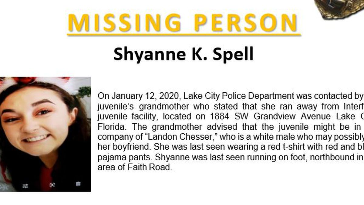 Lake City police looking for missing 16-year-old girl
