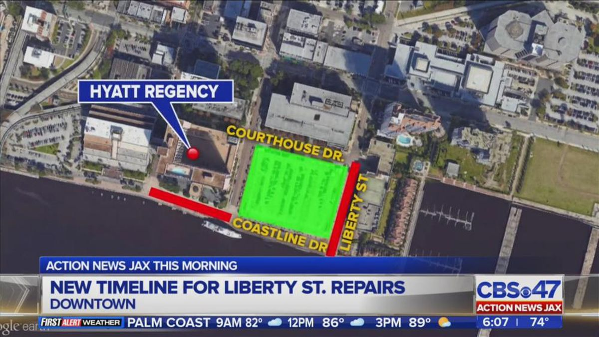 Third extension pending for Liberty Street/Coastline Drive reconstruction