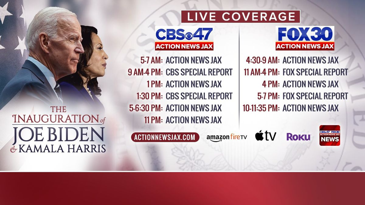 Presidential Inauguration Day: Here is how to stay informed with Action News Jax