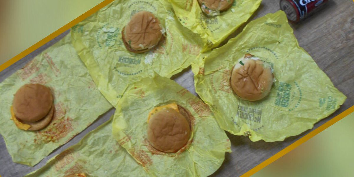 Clay County police intercept smuggled McDonald's burgers, chewing tobacco