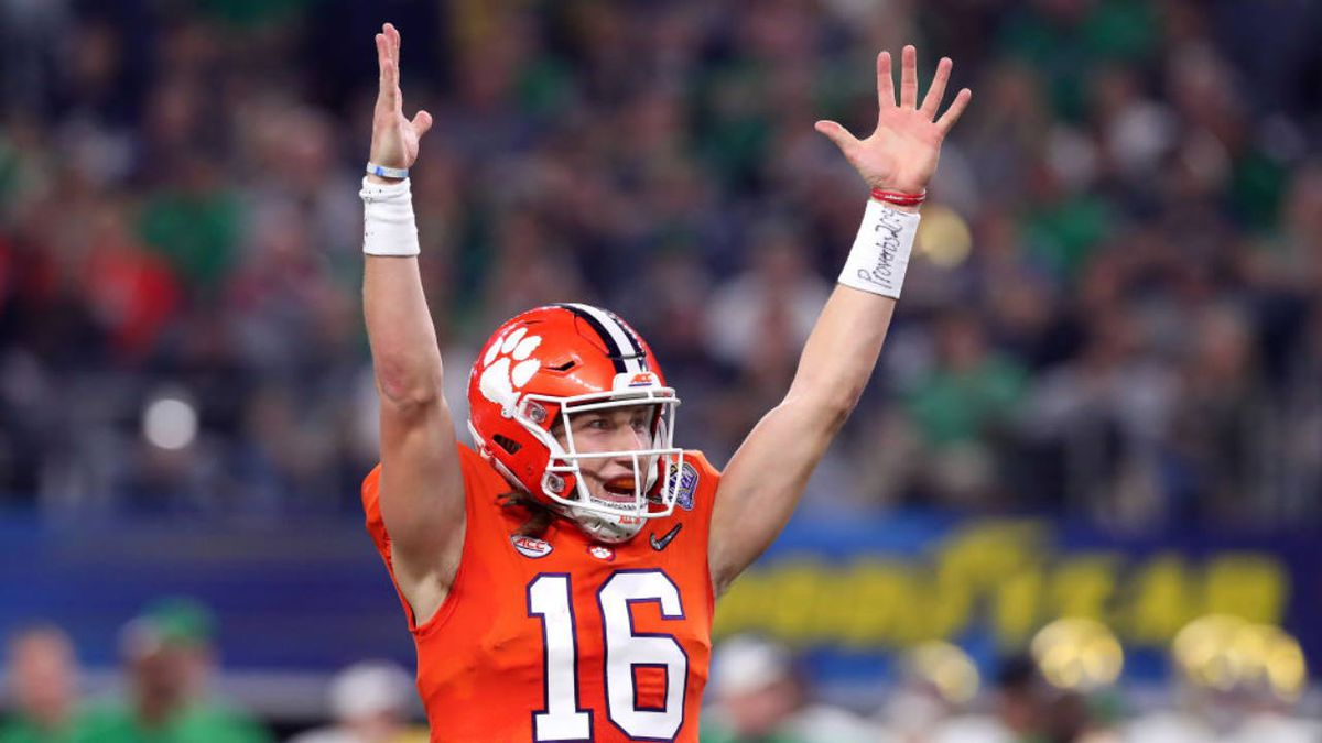 Clemson's Trevor Lawrence is likely No.1 overall pick, declares for the NFL Draft