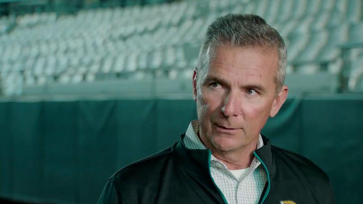 WATCH: Jacksonville Jaguars' new head coach Urban Meyer explains why he chose the team