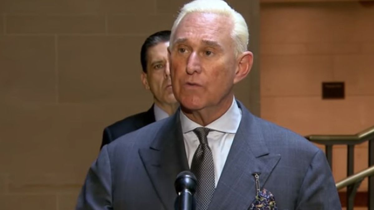 Stone sentenced to 40 months for obstructing Trump-Russia probe