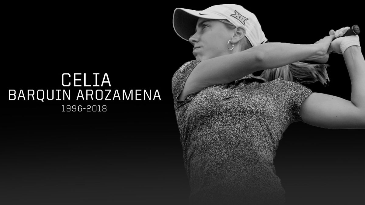 Celia Barquin Arozamena, 2018 Big 12 champion, found dead on Iowa golf course