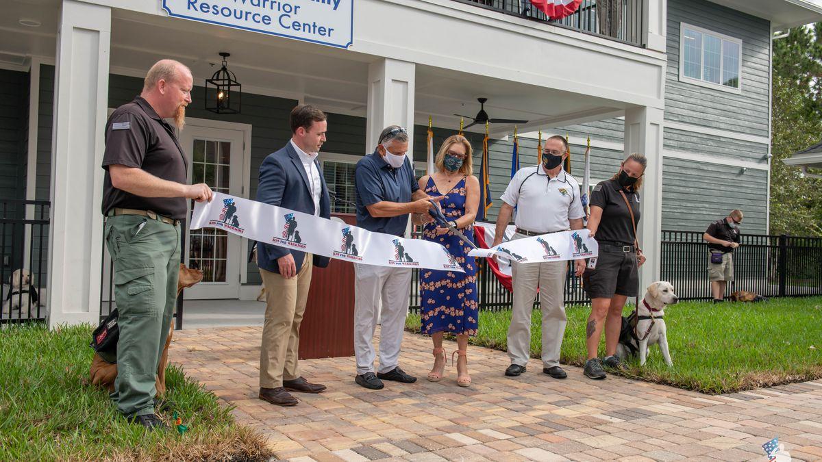 K9s For Warriors dedicates new resource center
