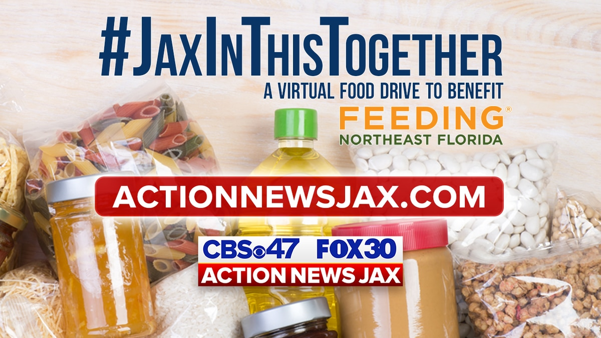 #JaxInThisTogether: A virtual food drive to benefit Feeding Northeast Florida