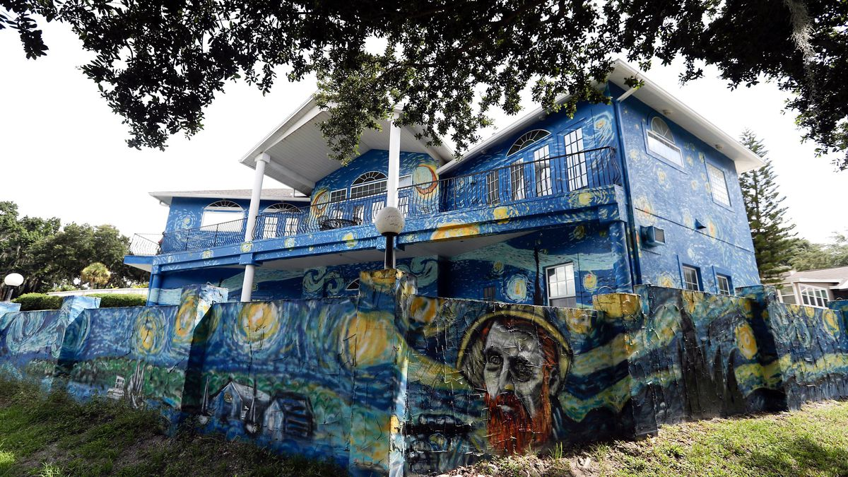 Van Gogh 'Starry Night' house here to stay after Florida couple wins legal battle