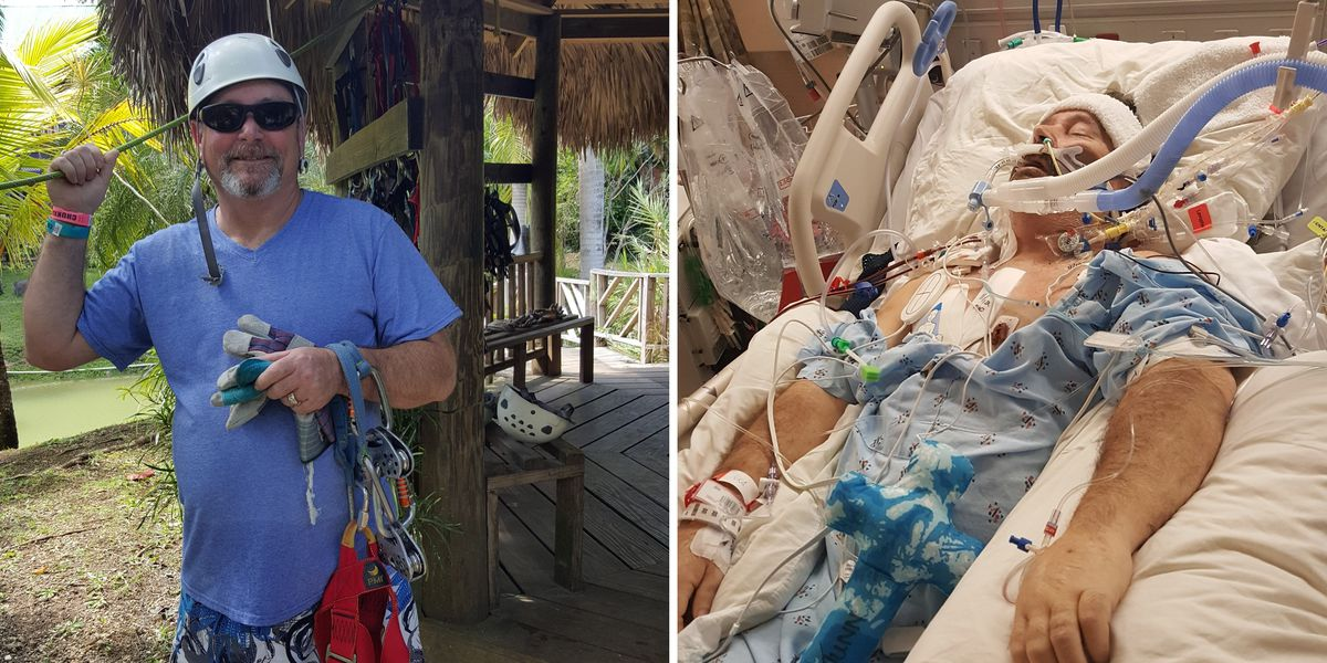 Veteran gets double lung transplant in Jacksonville hours after doctors said he was going to die