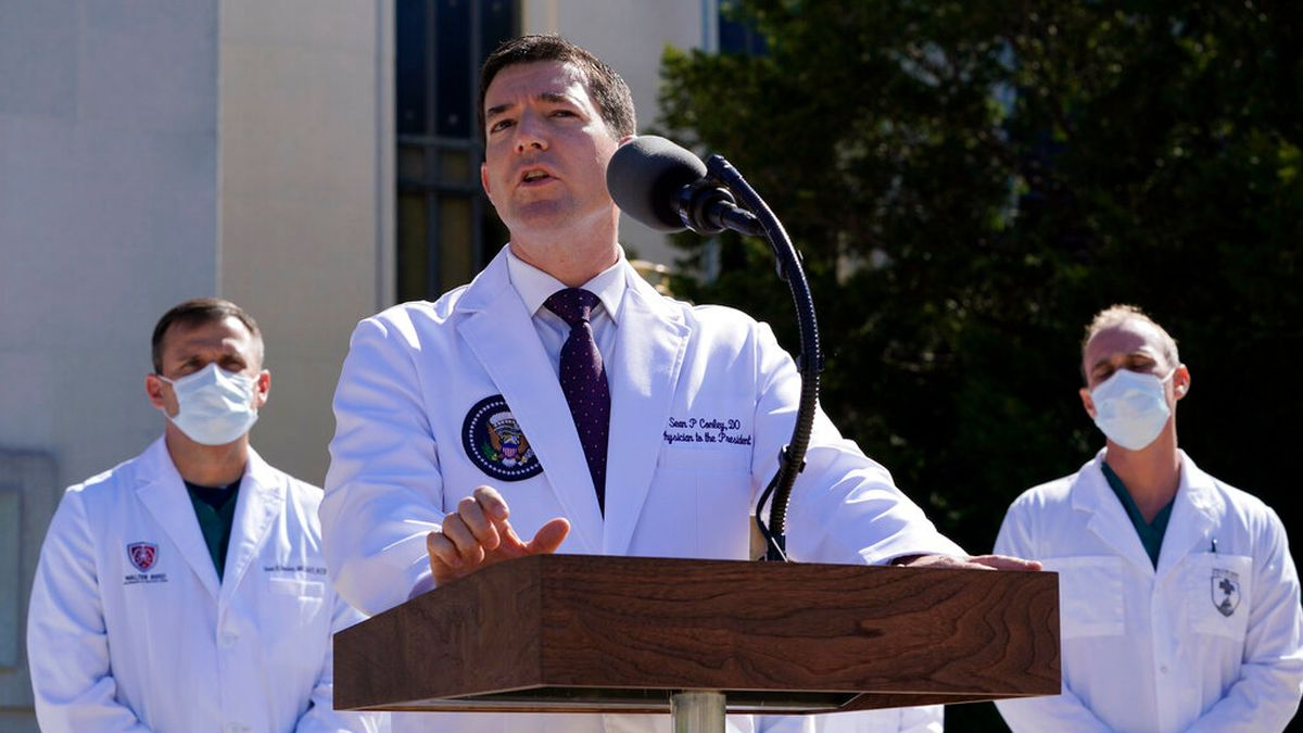 Who is Dr. Sean Conley, the president's physician?