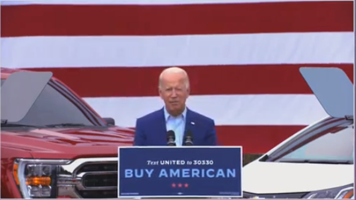 Biden hits Trump on virus after release of Woodward book tapes