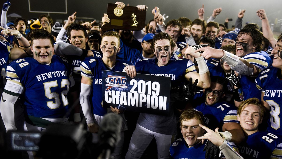 Newtown High School wins football state championship on anniversary of Sandy Hook shooting