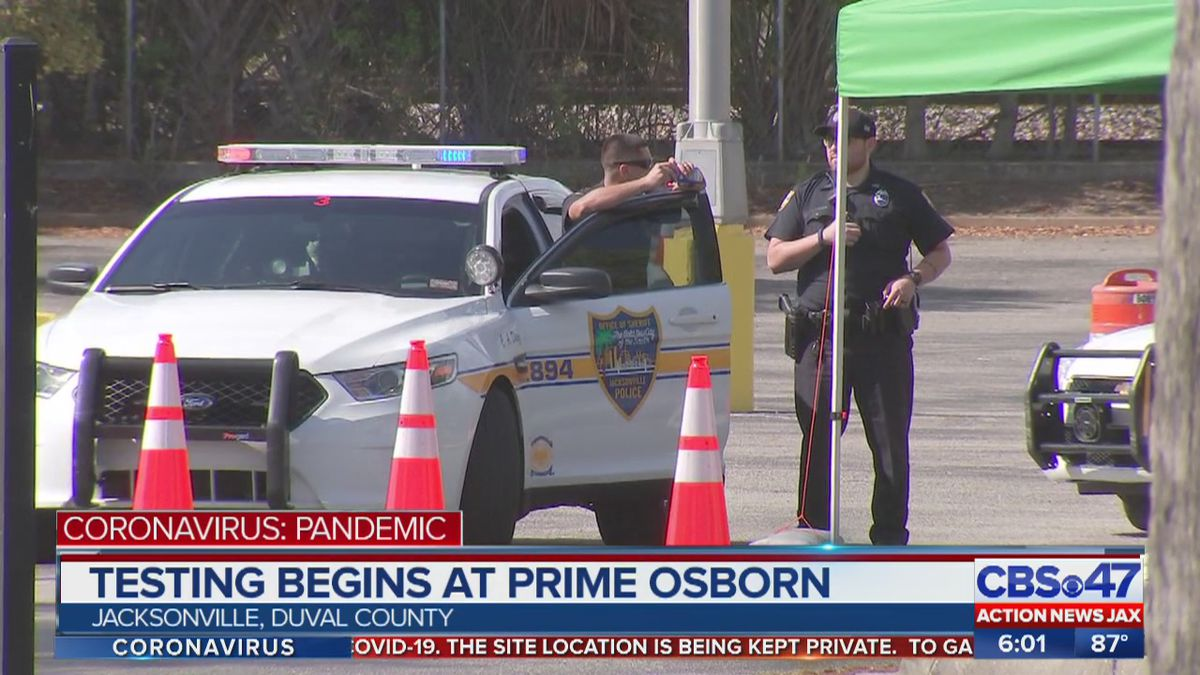 Computer glitch behind 'fake' COVID-19 appointments at Jacksonville's Prime Osborn