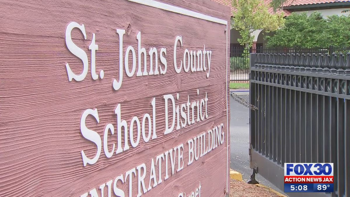 St. Johns County School District releases a COVID-19 dashboard