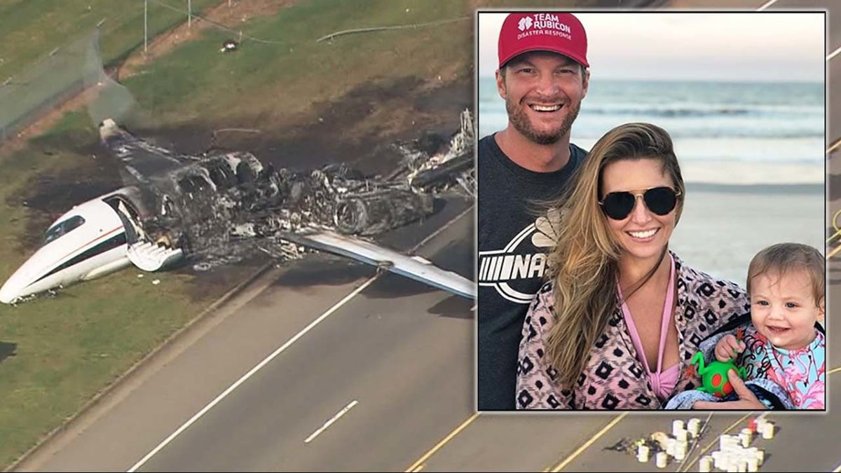 Dale Earnhardt Jr. plane crash: Pilot attempted 'go-around' after second runway bounce, NTSB reports