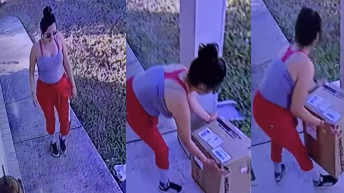 'Tis the season: Porch pirate grabs package from San Antonio home