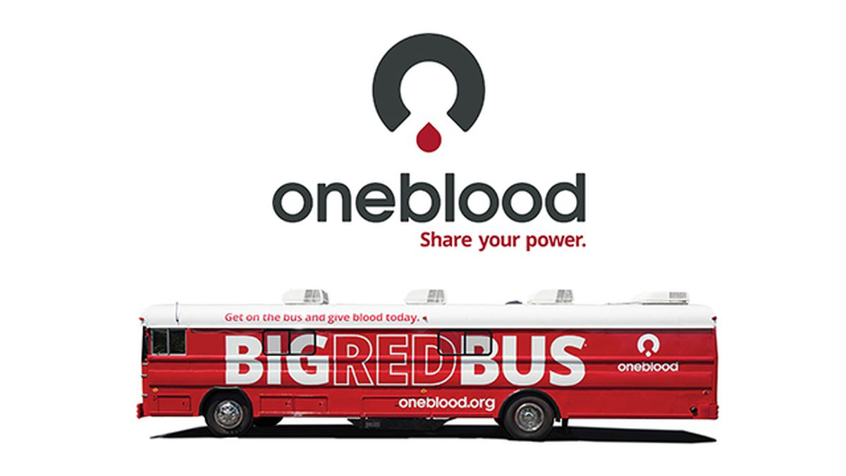 Find a mobile OneBlood Drive or Donor Center near you