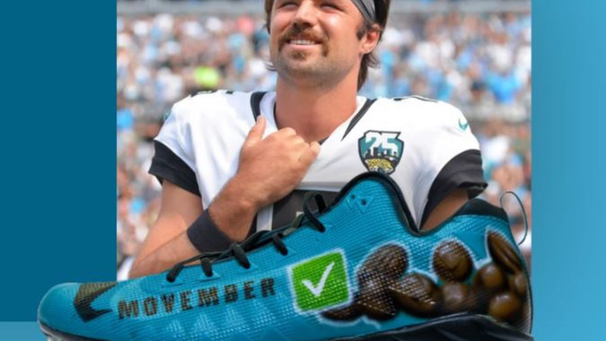 Gardner Minshew II's 'My Cause My Cleats' partners with Movember awareness