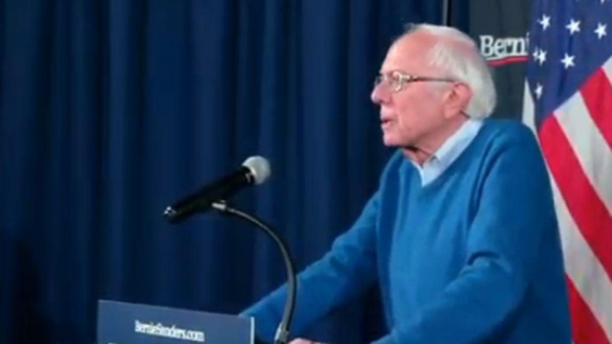Sanders joins Buttigieg in declaring victory in Iowa