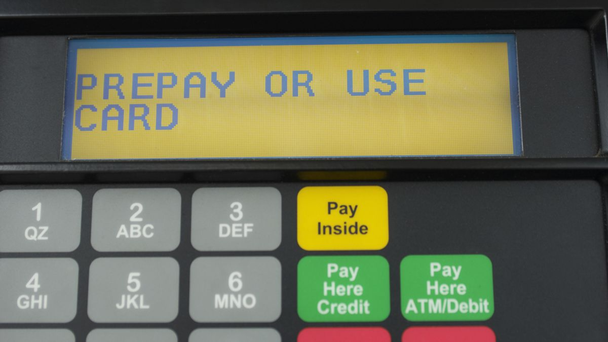 The #1 way to protect yourself from skimmers if you pay debit at the gas station