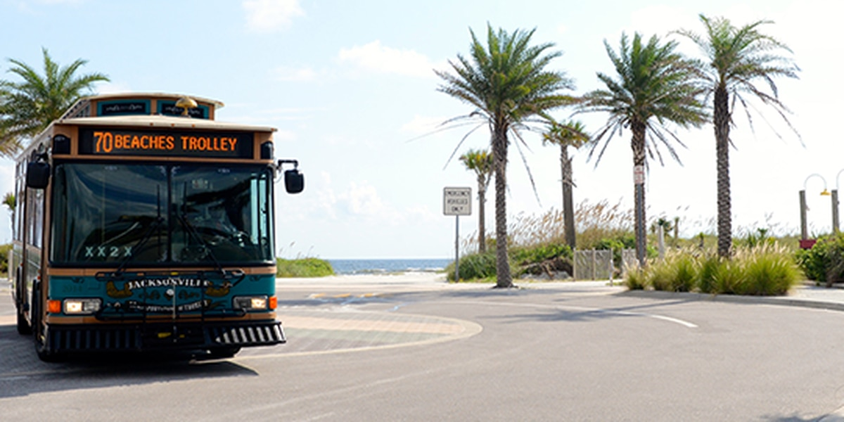Jacksonville Transportation Authority discontinues Beaches Trolley