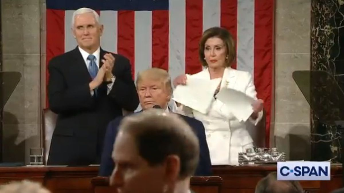 A snub. A speech. A State of the Union torn to shreds.