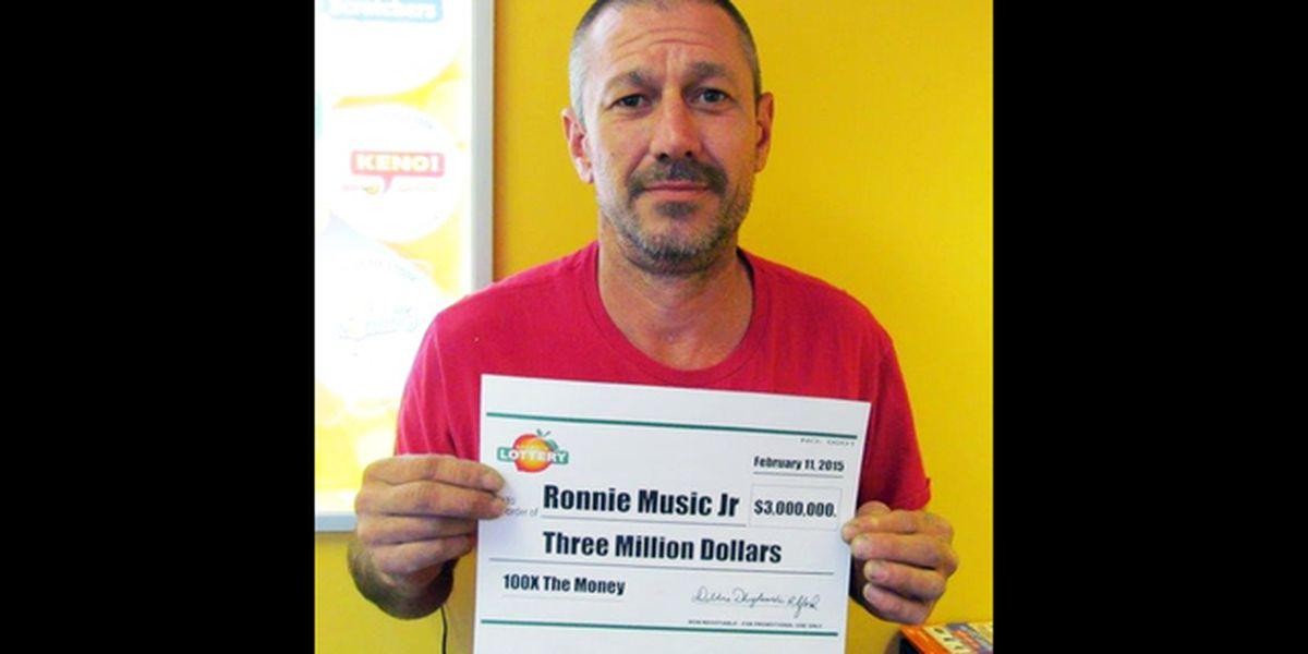 Waycross man invests part of $3M lottery winnings in crystal meth ring