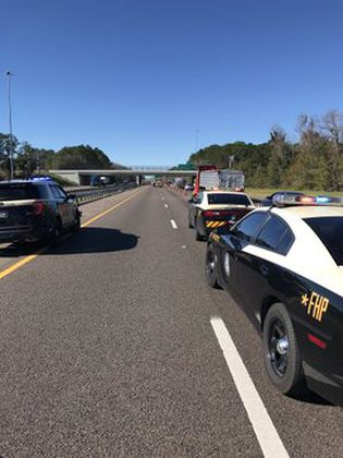 Man killed in crash on I-10 WB at Chaffee Road, FHP says