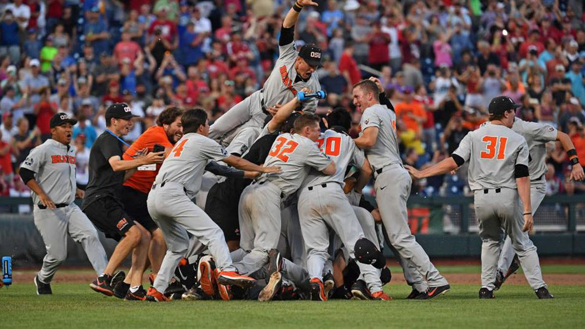 Oregon State blanks Arkansas to win College World Series
