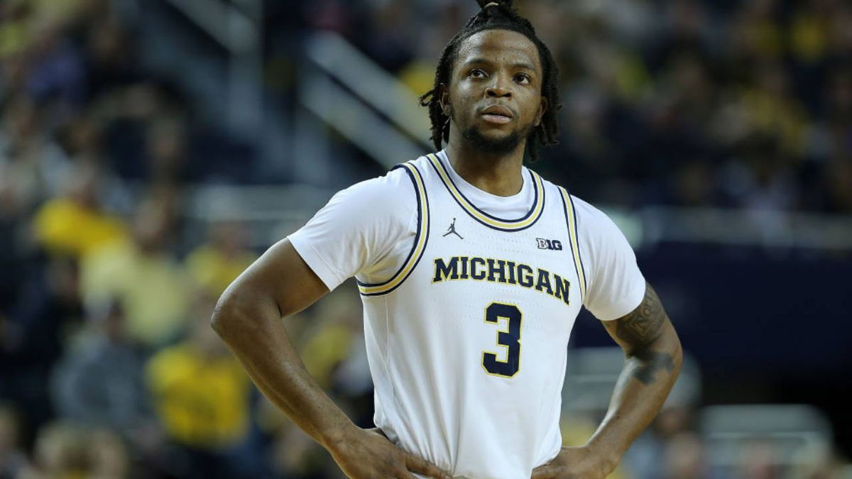 Michigan basketball star suspended for violating curfew after wrecking car