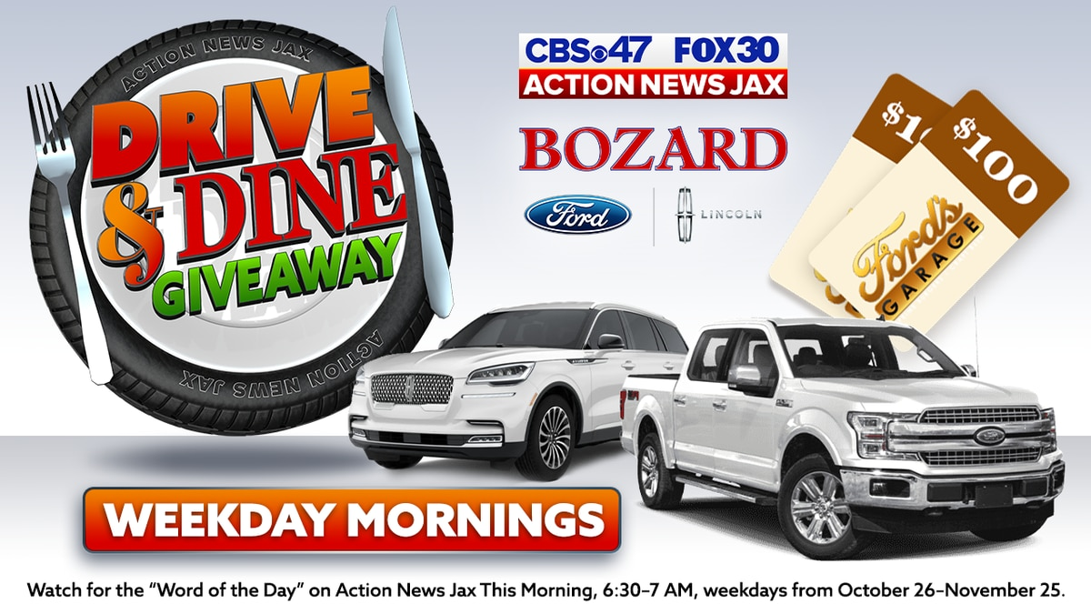 Action News Jax Drive and Dine Giveaway