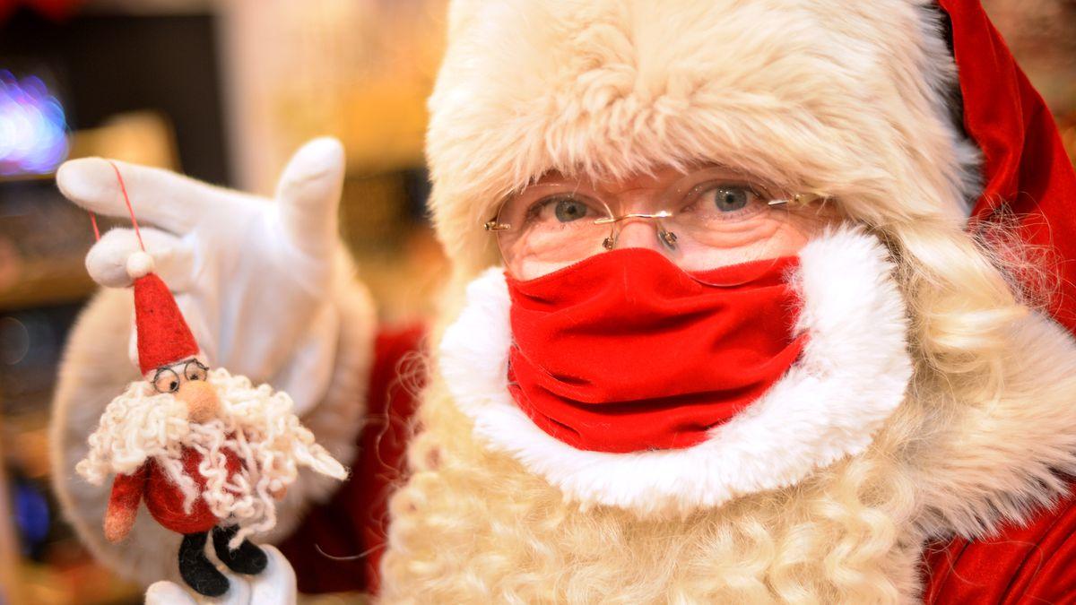Safely visiting Santa