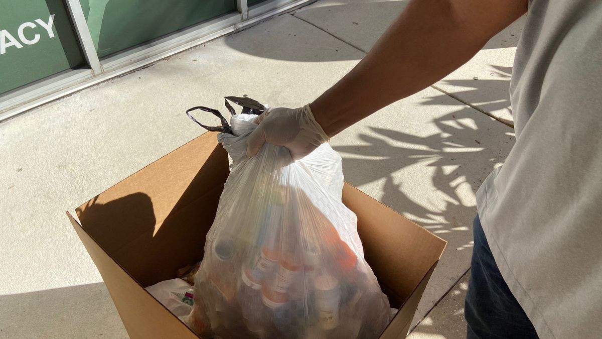 478 lbs. of prescription drugs taken off Duval, Clay and St. Johns County streets