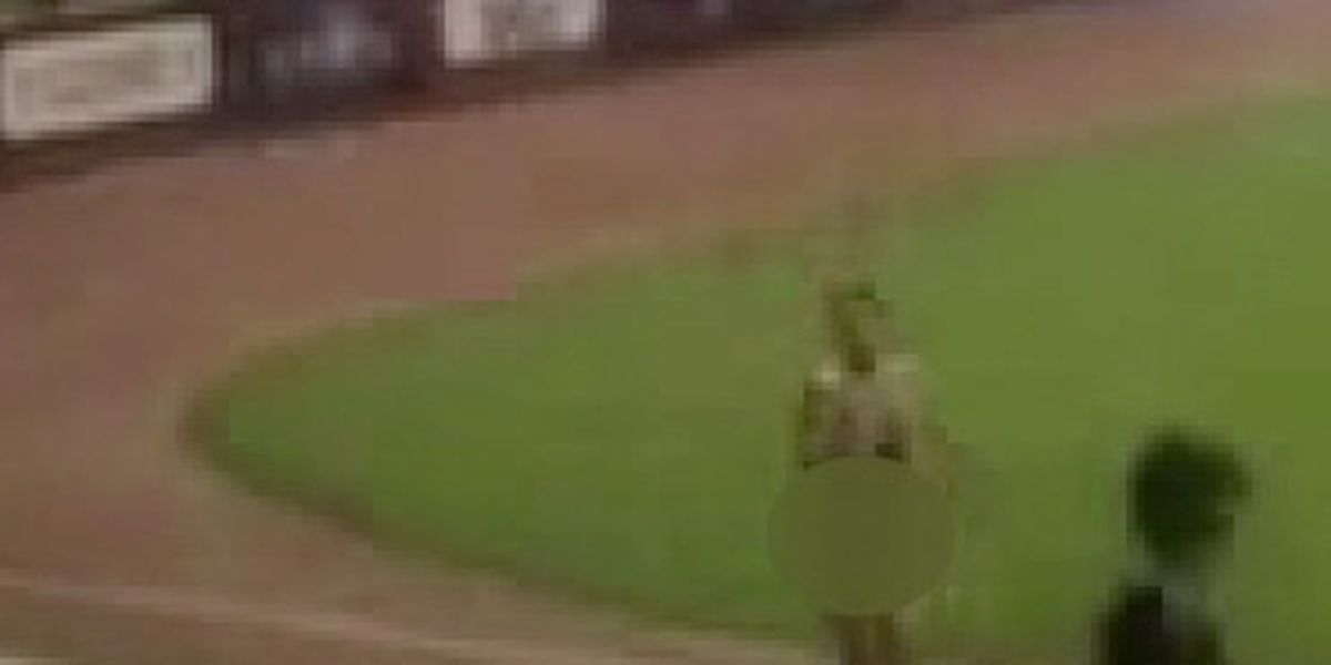 Video: Streaker tackled at Jacksonville Jumbo Shrimp game