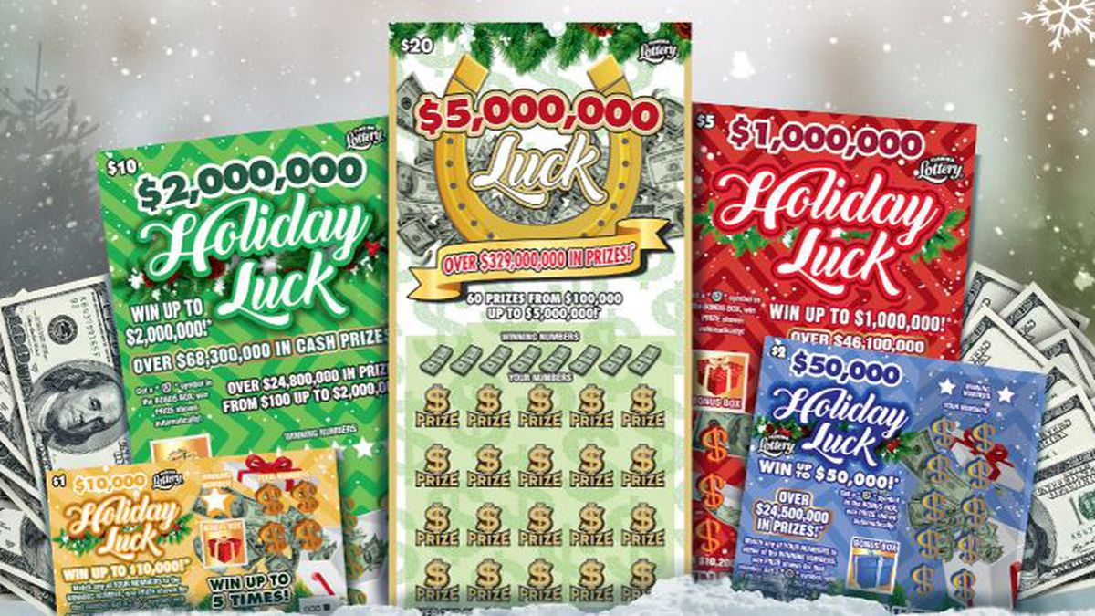 Jacksonville woman wins $2 million playing new holiday Florida Lottery scratch off game