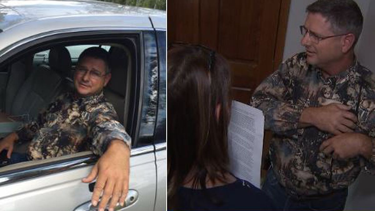 Man kicked out of Clay County news conference identified